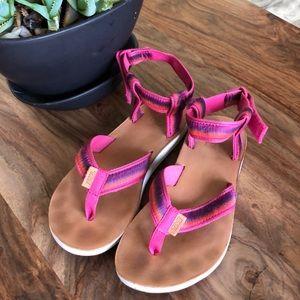 TEVA original sandal ombré raspberry 6